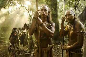 我以前看过关于印第安人的电影,现在忘了,讲的是一个部落将另一个...