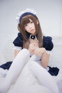 白丝女仆波涛汹涌 日本美少女Coser送极品福利