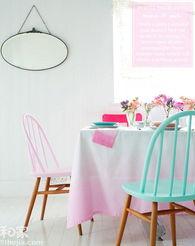 地方就在   椅子   椅子装修效果图   ... 图中则利用鲜嫩无比的颜色改变整...