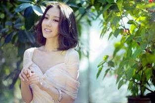中年老大姐夏天-栗子姐 高露夏日写真