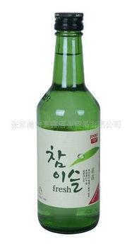 正宗韩国进口真露酒 真露烧酒 竹炭酒 19.5度 江苏总代理