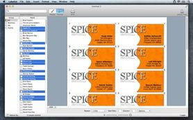 list_7_5-Labelist for mac 7.5.0 设计打印标签信封信纸(SOHO标签)的工具 最...