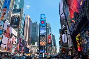 新华社微视频《大道之行》正在纽约时报广场