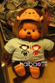 还要再穿一件猴子外套,证明:我是小猴子!-与Hello Kitty齐名的蒙奇...