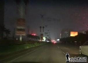 海丽大道路段一片漆黑,安全隐患突出 在海丰县城永安达十字路口往汕...