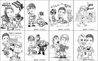 魔漫世界杯 用漫画记录精彩与悲情