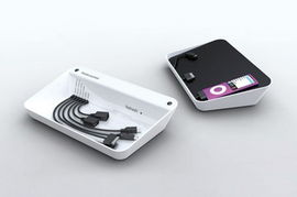 充电器和数据线经常会让桌面显得凌乱不堪-三合一Refresh充电器
