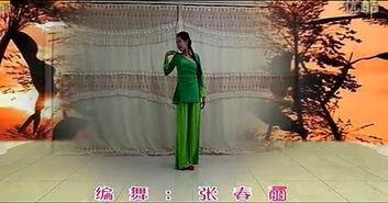 张春丽广场舞 红高粱 编舞张春丽 正反面动作演示 口令分解 演唱韩红