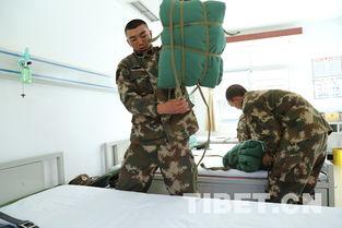 ...不知所措,打起背包来从容又迅速.-武警西藏森林总队新兵锤炼成战...