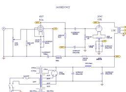 求EF86 2A3的单端电路图 输出 SJ7和EF86的管脚一样的吗