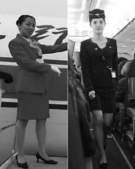 朝鲜空姐换装引赞叹 裙子变短显女性线条美 图