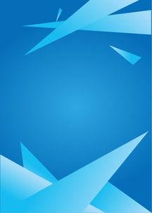 ...KB.-蓝色上下尖角背景图片模板免费下载 ai格式 编号15364900 千...