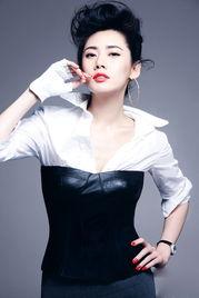 ...果美人 秋瓷炫大尺度写真 熟女的性感张力
