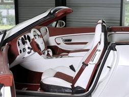 『宾利Le Mansory Convertible GTC内饰』-全球限量24辆 宾利改装车...