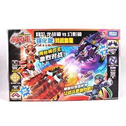 炫动卡通 骑刃王 强化版对战套装2款 铁甲威虫骑刃王 玩具 KB37