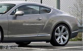新款宾利欧陆GT-W12奢华座驾 宾利新欧陆GT巴黎首发
