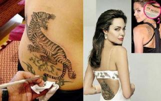 """闲暇时,她让纹身师傅在背部纹了一只面积约为20cm*30cm的""""生猛..."""