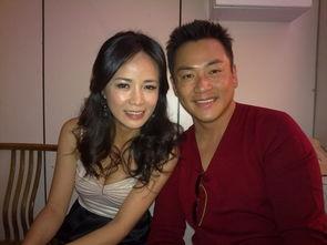 一袋女王和陈仙梅-江宏恩在电视节目侧拍
