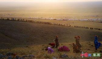 呼伦贝尔草原最神圣的祭拜 宝格德乌拉圣山祭祀 原创组图