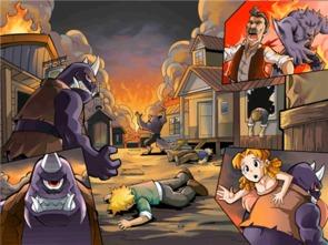 ...狂野西部,魔王入侵,家园等你来拯救