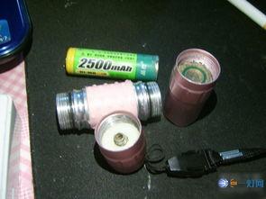 拆个1WLED手电,升压只有4个元件