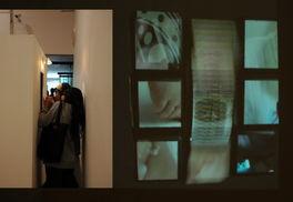 林亭立作品《昏魂混混》 在方形的空间里开个窗口,在方形空间里将已...