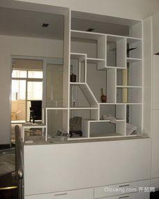 ...米现代简约风格客厅酒柜隔断装修效果图