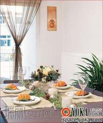 家居餐桌美图 何芬的时尚图片 YOKA时尚空间