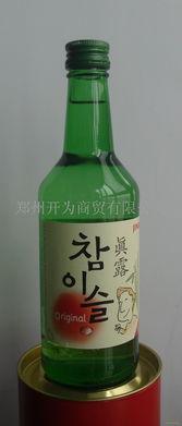 真露酒 河南郑州 韩国烧酒
