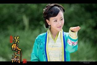 在电视剧《宫锁珠帘》和《笑傲江湖》中,杨蓉的演技力压袁姗姗.-...