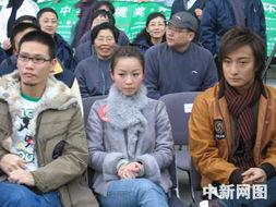 凤凰卫视吴小莉及香港演艺届明星参加环保宣传