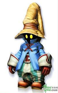 ...怯而善良的年少黑魔法师,想找到自己存在的意义.-FF9 最终幻想IX...