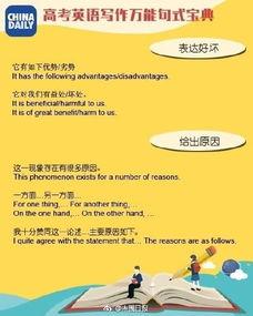 高考英语写作万能句子模板 高考英语作文万能开头结尾
