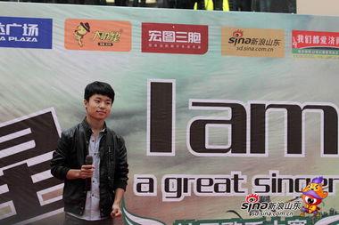 中国梦之声60强选手王瑀参赛