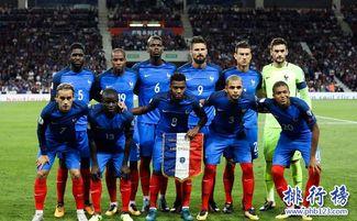法国2018世界杯阵容一览表
