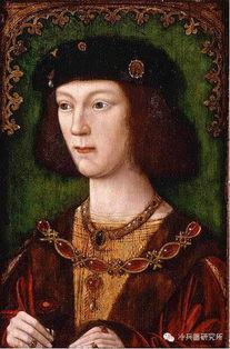 ▲1509年加冕后的亨利八世像   刚刚登基的亨利八世可与前面那张二十...