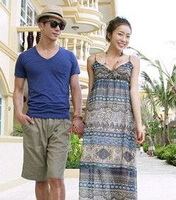 出游夏季情侣装搭配 二