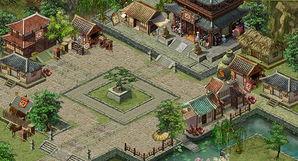 武林传奇2城市地图二