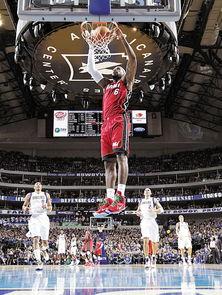 詹姆斯灌篮霸气十足-NBA,今晨正式开打