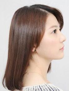 40岁方脸冬天适合的中长发型图 40岁方脸女人发型设计