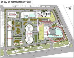 扩建后北大深圳医院总平面图-北大深圳医院拟扩建1.78万平门急诊楼