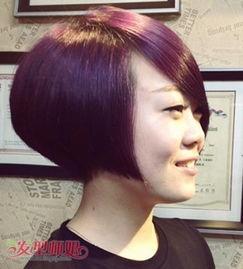 40多岁胖脸适合短发吗 适合胖胖脸的利索短发 发型师姐