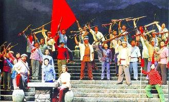 第五次复排《江姐》演出剧照-红岩上 红梅开