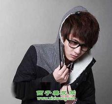 2012男士最新刘海发型图片