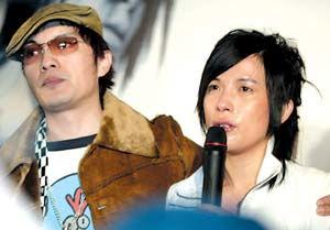 潘美辰与哥哥 痛哭 发布会 娱乐现场