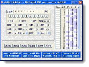 彩王时时彩后三猎手下载v3.2 官方版 彩票工具 Arp下载站