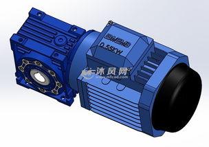 电厂蜗轮减速机传动件的啮合