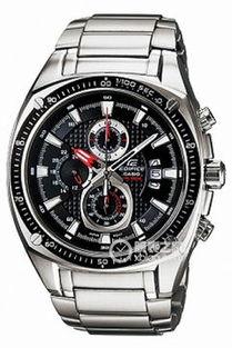 ...CasioEDIFICE系列计时功能不锈钢表壳男士金属表带手表 多少钱 怎...