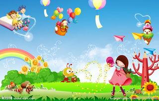 六一儿童节背景素材下载图片