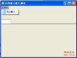 外部程序无法嵌入外形框,求助 急